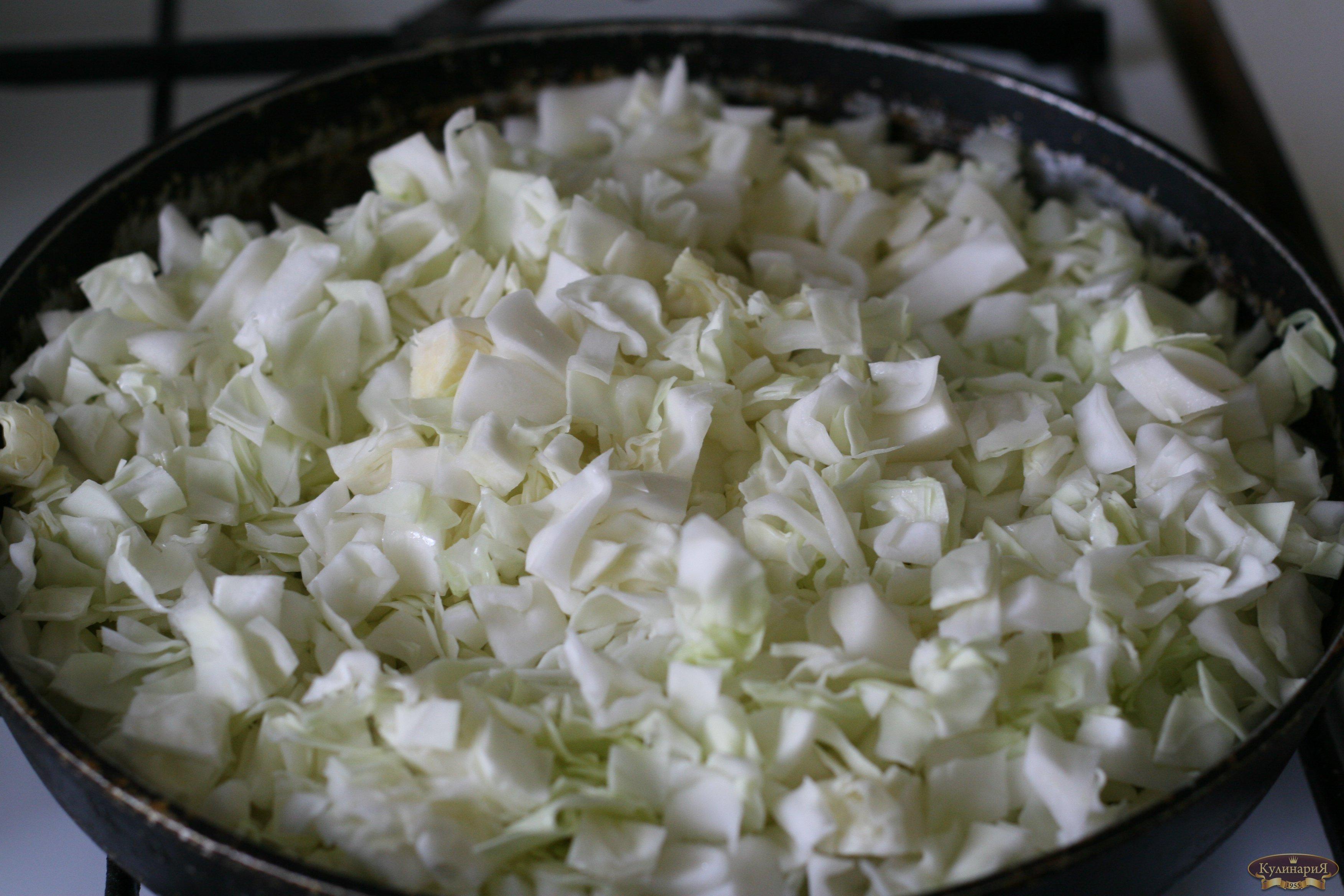 фарш из свежей капусты