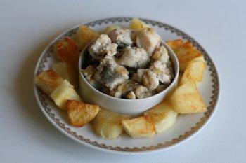 на гарнир к рыбе приготовить картофель