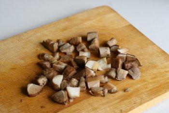 белые грибы измельчить