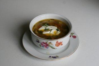482. Суп картофельный со свежими грибами