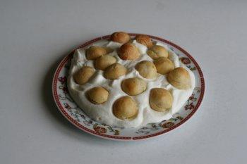1933. Орешки из заварного теста (профитроли) со сливками