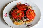 1362. Кабачки жареные с грибами и помидорами