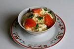 1639. Яичная кашка с помидорами