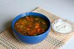 469. Суп из кабачков со свежими грибами