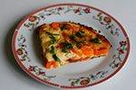 1351. Тыква, запеченная с яйцом