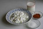 1758. Творог с молоком или сливками