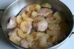 1176. Цыпленок с яблоками
