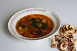 480. Суп картофельный с сушеными грибами