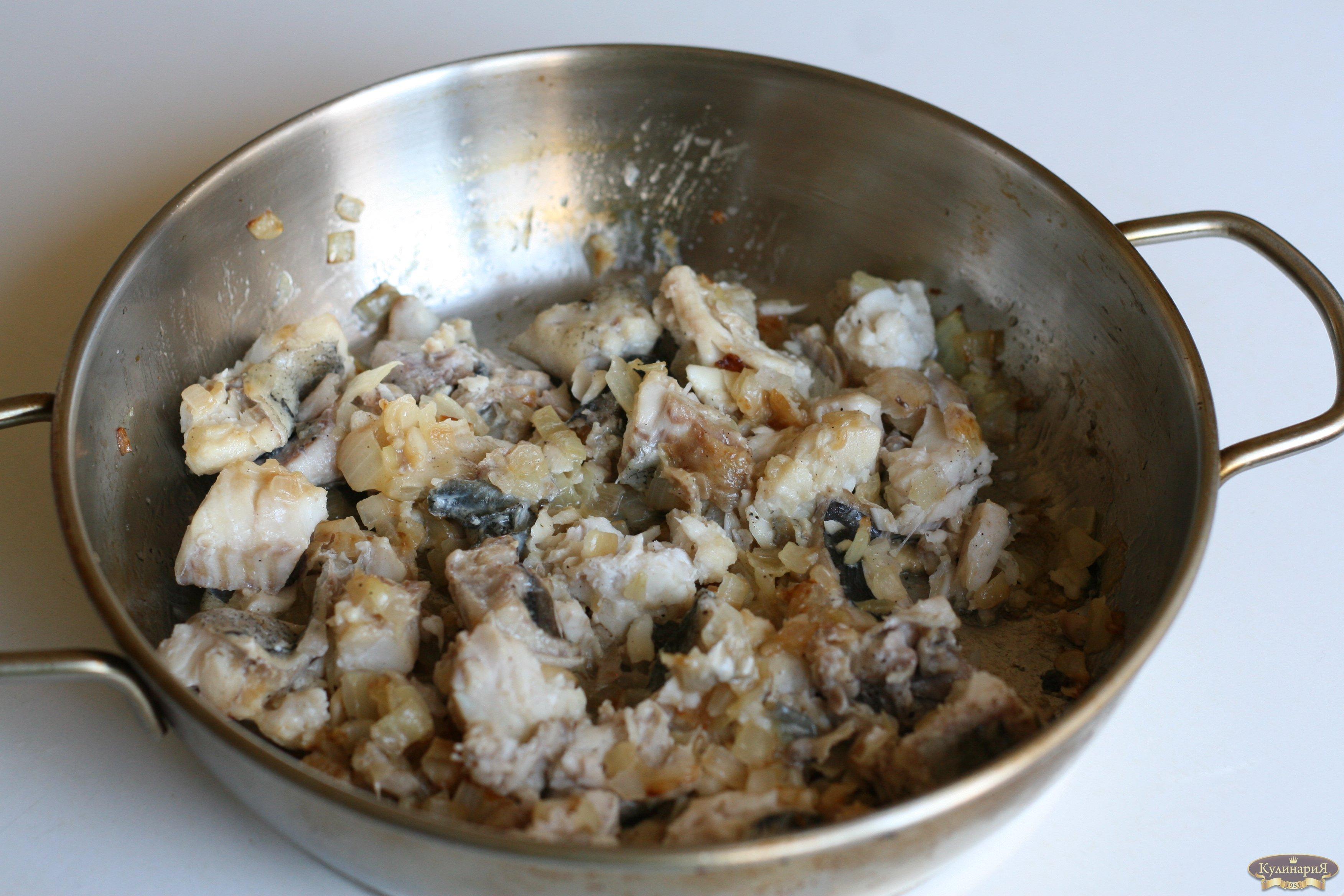 Поджарка из трески - кулинарный рецепт. Миллион Меню