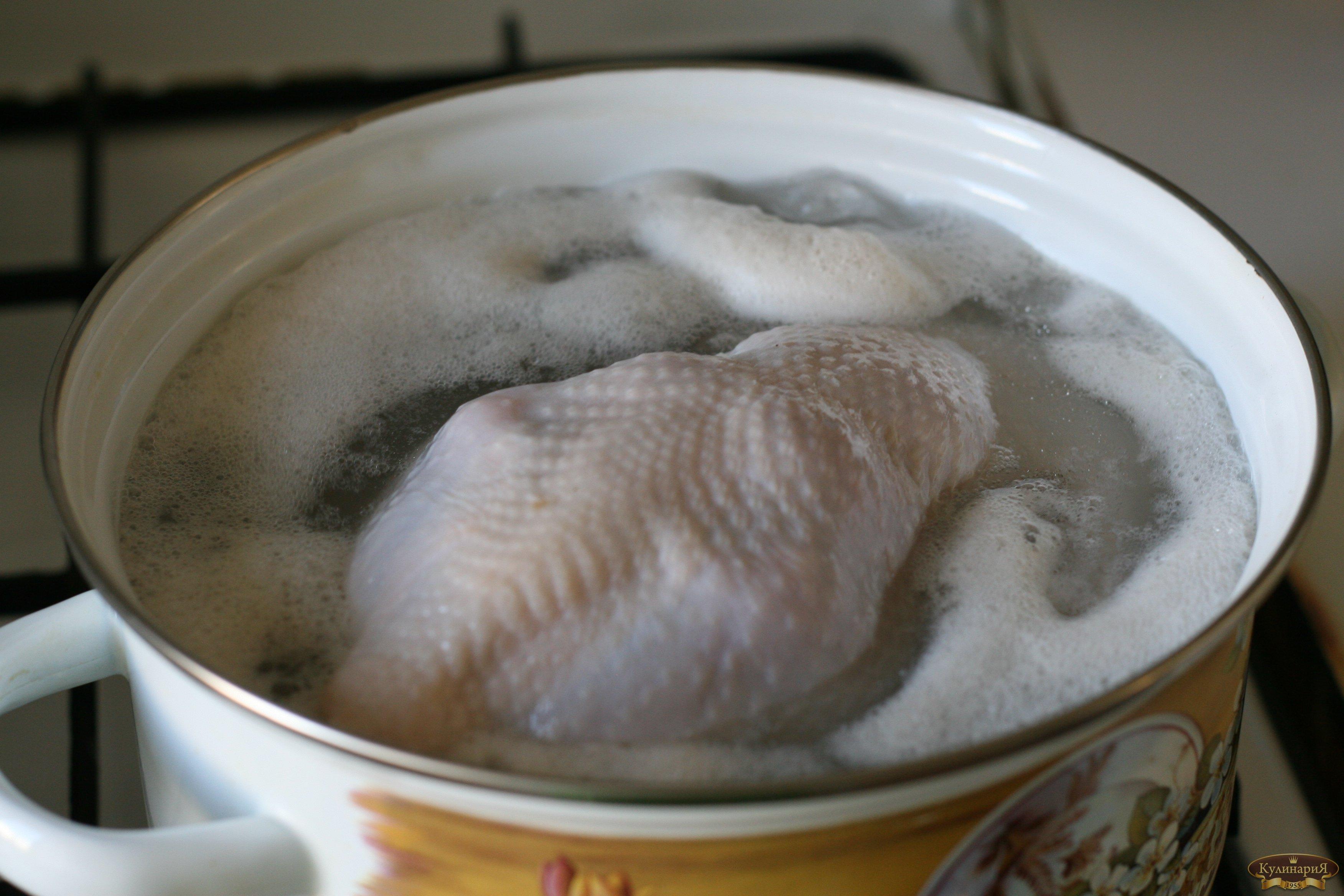 Готовим ризотто курицей и грибами