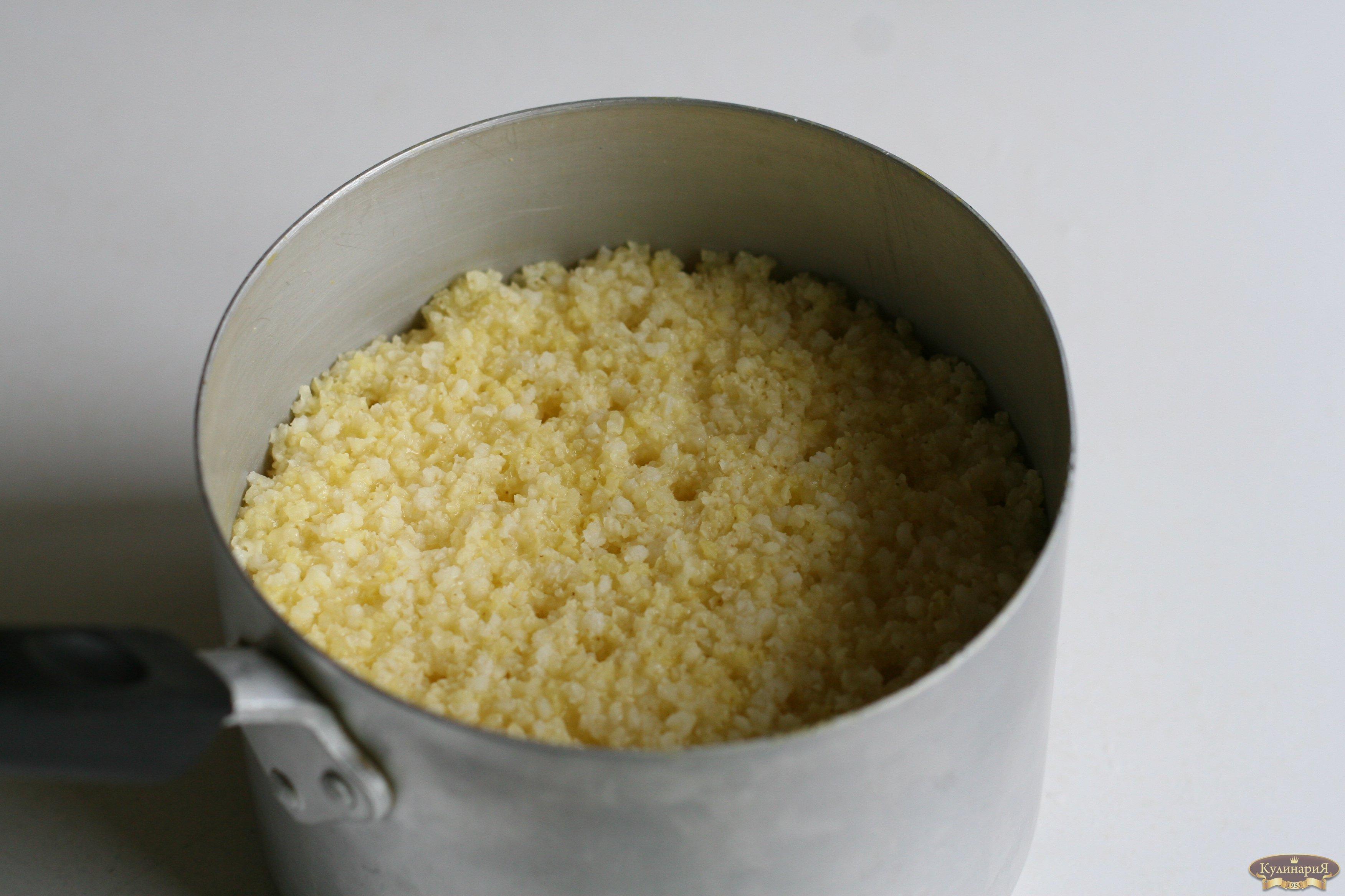 рецепт приготовления рассыпчатой пшенной каши на воде