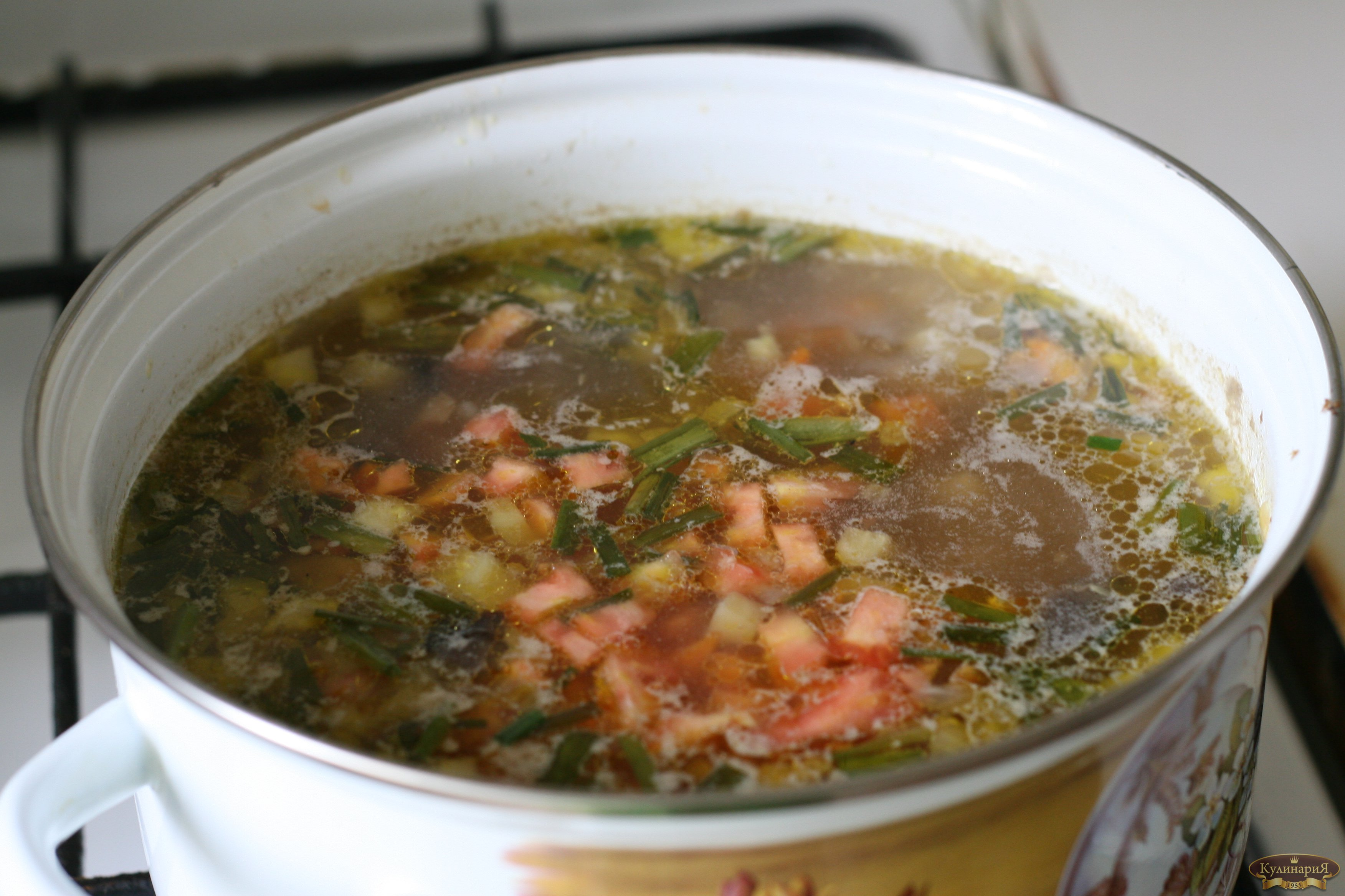 как варить суп из свежих грибов с картофелем