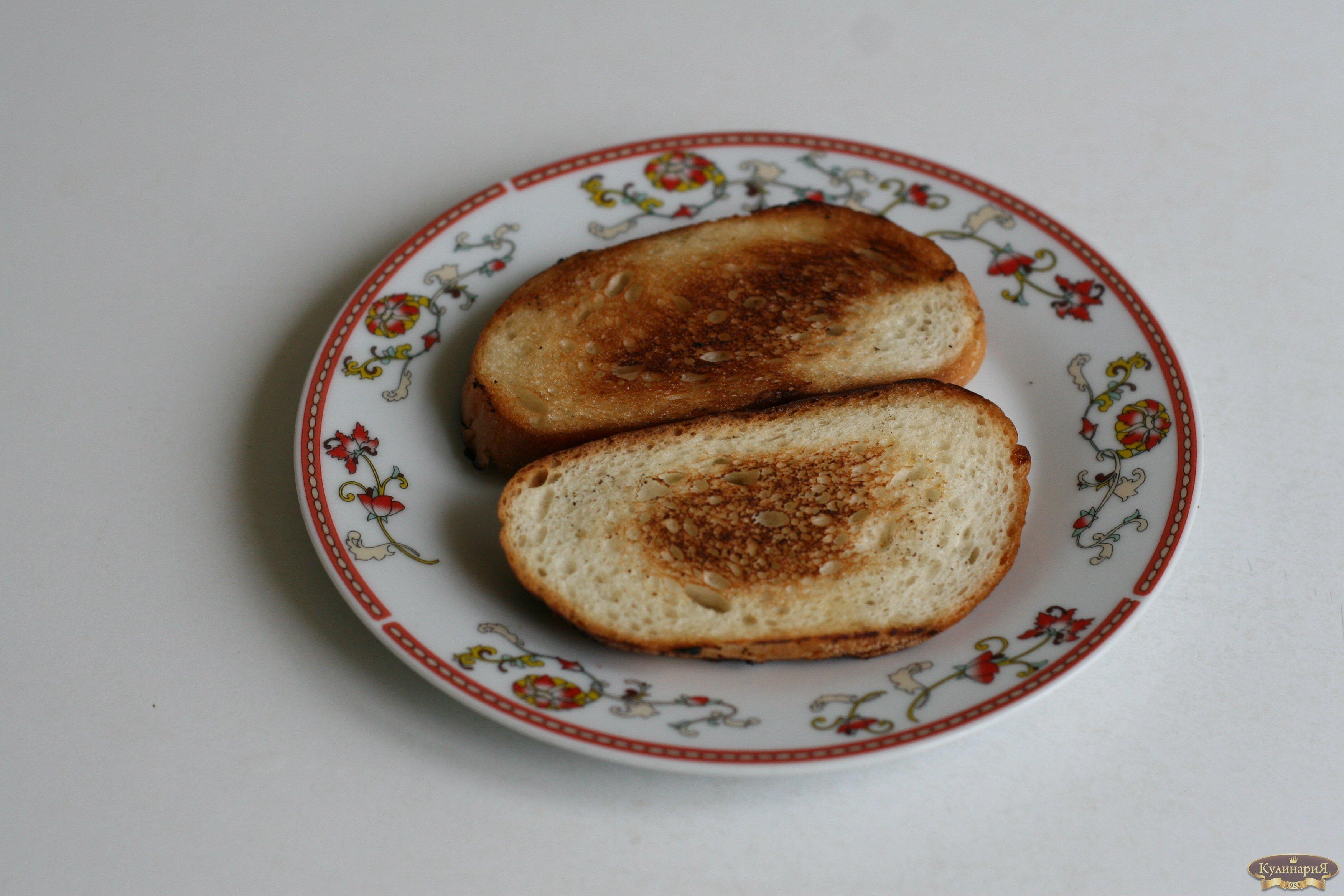 Закуски на хлебе (тартинки)