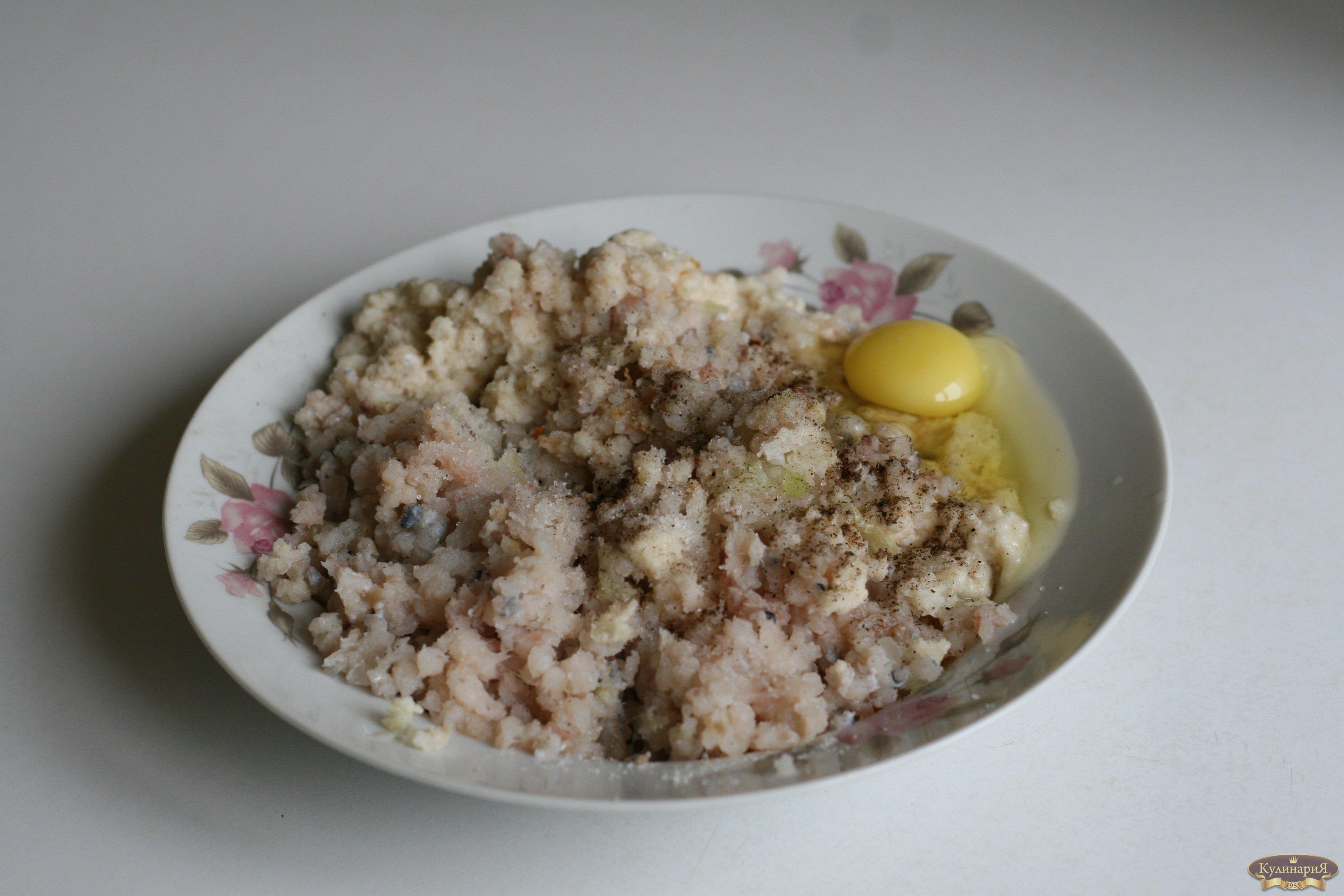 котлеты из рубленной рыбы рецепт с фото