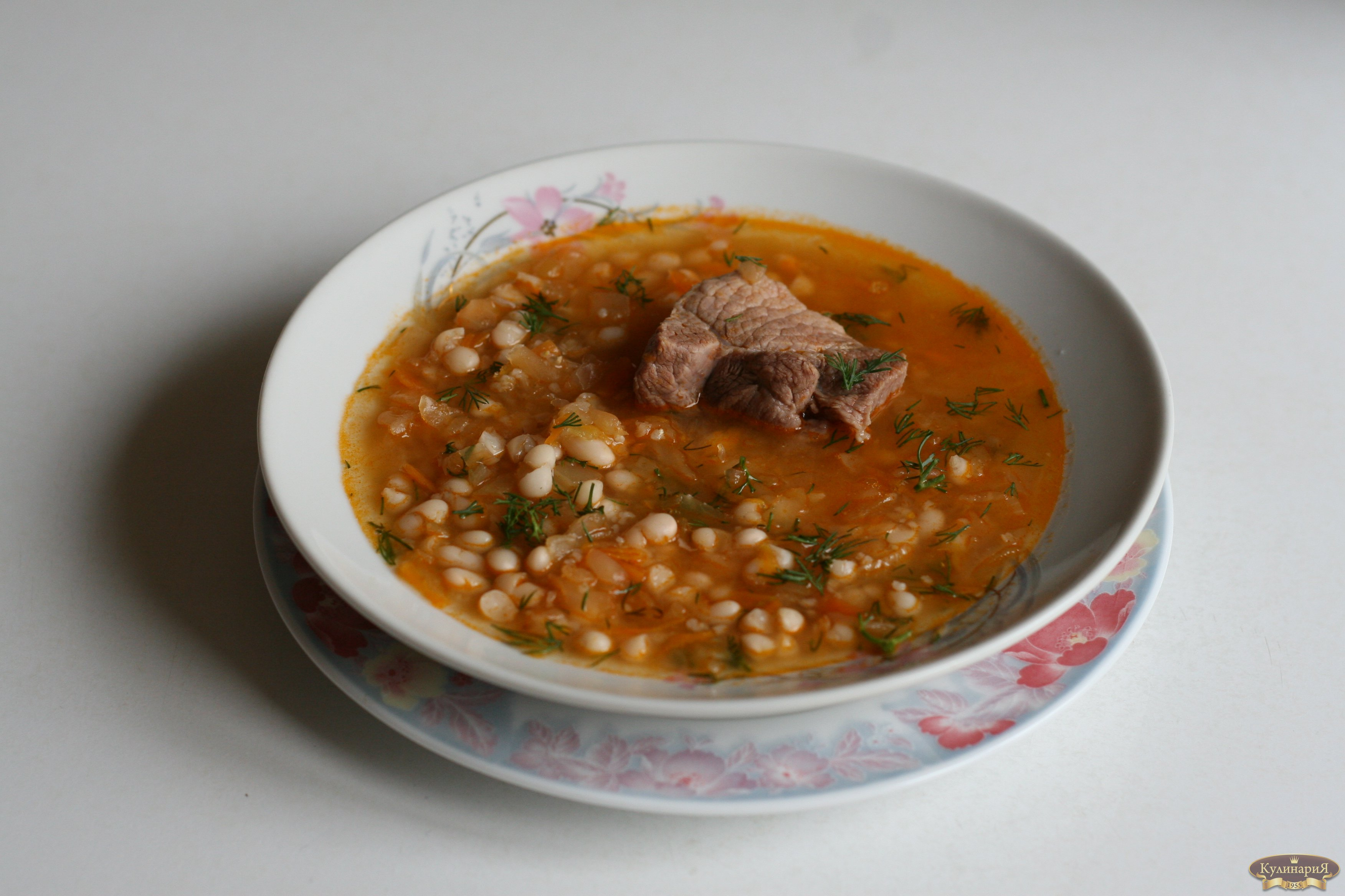 Суп с говядиной и капустой рецепт