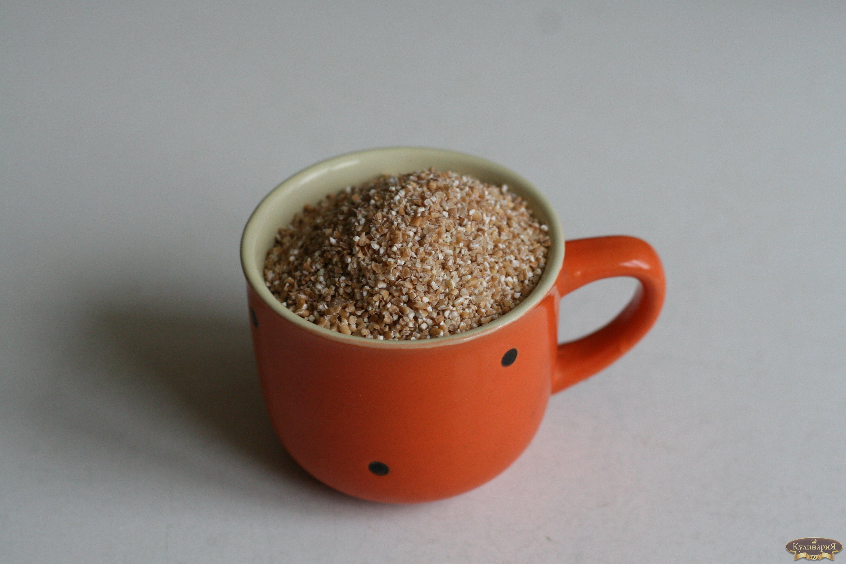 Пошаговый рецепт пшеничной каши